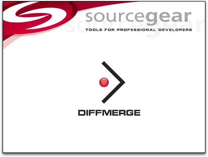 DiffMerge起動画面