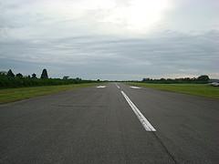 大利根飛行場の滑走路