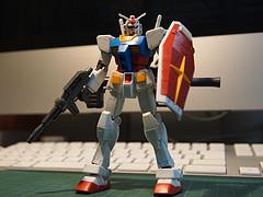 完成したHG 1/144 RX-78-2 ガンダム Ver.G30th
