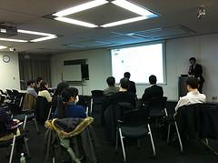 アクセシビリティキャンプ東京 キックオフ開催中の模様