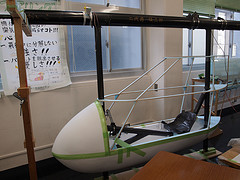 WASAの機体展示(コックピット)